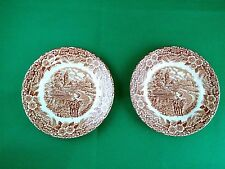 "Broadhurst "" The Constable Series "" Side Plates x 2"