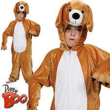 Puppy Dog Age 5-6 Childs Fancy Dress Kids Pet Animal Boys Girls Costume Outfit