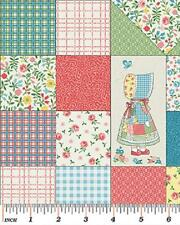 Fat Quarter Sunny Bonnet Susie Small Blocks 100% Cotton Quilting Fabric