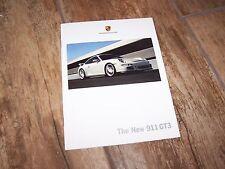 Catalogue  /  Brochure PORSCHE 911 GT3 2006  //