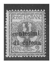 TRENTO E TRIESTE   1919 -   Cent. 2   NUOVO **