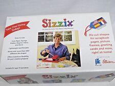 NEW Sizzix Original Big RED DIE CUTTING MACHINE with Cut Pad in Original Box