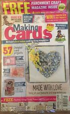 Making Cards Free Parchment Craft Mag Inspiring Ideas Feb 2015 FREE SHIPPING!