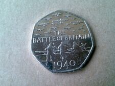 50p Coin Battle of Britain