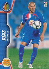 N°115 DANIEL ALBERTO DIAZ ARGENTINA GETAFE.CF CARD PANINI MEGA CRACKS LIGA 2011