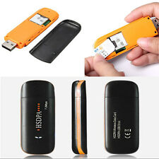 HSDPA USB STICK SIM Modem 7.2MBPS 3G Wireless USB Dongle TF Card Adapter Win 7 8