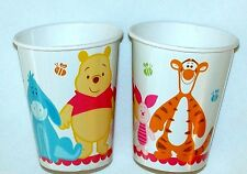 WINNIE THE POOH LITTLE HUNNY- BABY SHOWER 8- PAPER CUPS 9oz PARTY SUPPLIES