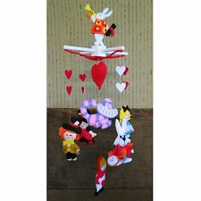 Baby Mobile Alice In Wonderland Mobile Hatter Alice Rabbit Cheshire Cat