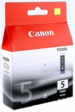 Genuine Canon PGI-5BK Black Ink Cartridge Pixma MP960 MP970 MX700 MP950 iP4300a