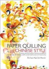 PAPER QUILLING CHINESE STYLE-Quilled/Paper Piecing Craft Idea Book-Cardmaking