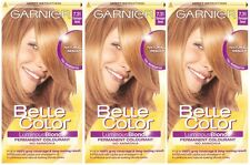 3 x Garnier Belle Color 7.31 Champagne Blonde - Permanent Hair Colourant Dye