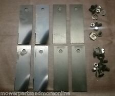 2 COMBO SETS ROVER 30in & 38in RANGER, RANCHER RIDE ON MOWER BLADES - A07873