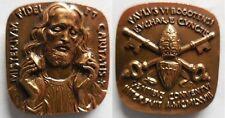 Vaticano medaglia papa Paolo VI viaggio in Colombia Bogotà 1968