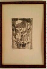 Enrico Paulucci Acquaforte-Acquatinta Originale 50 x 35 cm