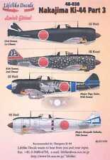 Lifelike Decals 1/48 NAKAJIMA Ki-44 SHOKI TOJO Fighter Part 3