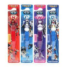 Tobot toothbrush 4pcs set / Tobot rescue toothbrush (standard & sweety)