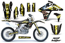 Suzuki RMZ 450 Graphics Kit AMR Racing Bike Decal RMZ450 Sticker Part 2007 MAD