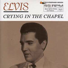 CD Single Elvis PRESLEY Crying in the chapel 3-track CARD SLEEVE  ☆