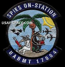 USAF AIR BATTLE MANAGER TRAINING -CLASS 17004- SPIES ON STATION - ORIGINAL PATCH