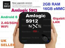 New MXIII-G S912 Fully Loaded Quad Core 2G+16G Android Smart TV BOX
