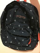 Jansport navy blue anchor