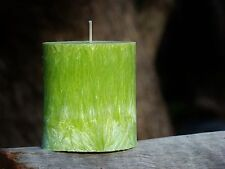 90hr CHRISTMAS PINE TREE Triple Scented OVAL ECO CANDLE Free Shipping / Postage