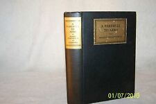 A Farewell to Arms, by Ernest Hemingway 1929, 1st/1st, hardcover, Fiction