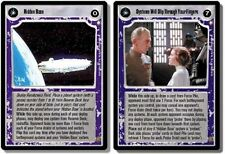 Star Wars CCG SE LS RARE Hidden Base/Systems Will Slip Through Your Fingers
