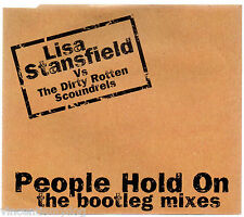 LISA STANSFIELD vs DIRTY ROTTEN SCOUNDRELS - PEOPLE HOLD ON (5 track CD single)