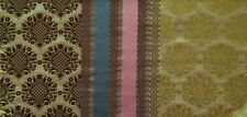 DESIGNERS GUILD Perrault Green Blue Pink Brown Silk India Remnant New