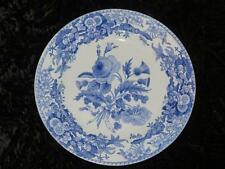 Antique SPODE Blue & White Plate UNION WREATH (3) 1822
