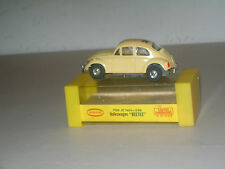 SLOT CAR COLLECTIBLE TJET FLOWER POWER VW BEETLE- w/BOX #1404 (`69-`72) VG