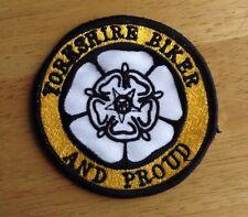Yorkshire Biker Embroidered Patch Motorcycle Biker Hells Angels  59 Rocker