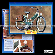 #139.05 Fiche Moto Cyclo Moped PEUGEOT 50 BIMA 1952-1958 Motorcycle Card