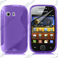 CASE COVER TPU S SILICONE GEL PURPLE Samsung Galaxy Y NEO GT-S5360 S5369i