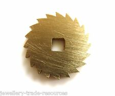 16mm REPLACEMENT BRASS CLOCK WINDING RATCHET WHEEL SPARES REPAIRS PARTS