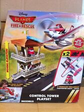 DISNEY PLANES - Control Tower Playset With Firefighter Dusty & Patch