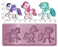 CAVALLO My Little Pony Craft SUGARCRAFT FIMO SCULPEY silicone stampo in gomma