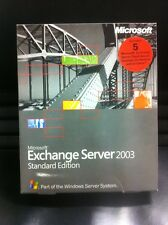 Exchange Server 2003 Standard incl. 5 client, l'inglese con IVA FATTURA