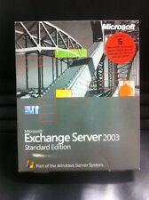 Exchange Server 2003 Standard inkl. 5 Clients, Englisch mit MwSt-Rechnung