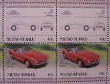 1958 BMW 507 Roadster Cabriolet Car 50-Stamp Sheet Auto 100 Leaders of the World