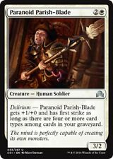 4 x Paranoid Parish-Blade - Shadows over Innistrad - Uncommon - Near Mint