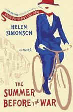THE SUMMER BEFORE THE WAR: A Novel Hardcover by Helen Simonson NEW FREE SHIPPING