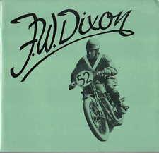 F W Dixon 'Flying Freddie' 1892-1956 Racing driver, motorcycle racing TT + Riley