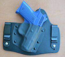 leather/kydex hybrid IWB tuckable holster for CZ 2075 RAMI