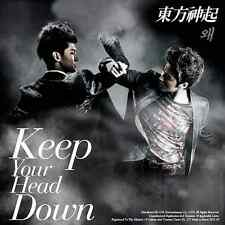 Keep Your Head Down by TVXQ (CD, Feb-2011, SM Records)