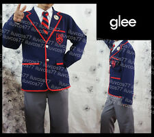 GLEE CLUB BLAINE ANDERSON KURT HUMMEL ACADEMY WARBLERS SCHOOL UNIFORM COSTUME