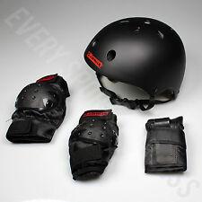 NEW Airwalk Helmet and Pad Roller Skating/Skateboarding/Biking Combo Set