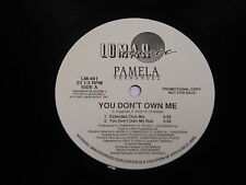 "Pamela Fernandez, You Don't Own Me LP (VG)12"" PROMO"