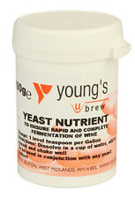 Young's Yeast Nutrient For Vigorous Fermantation 100g Tub Home Brew
